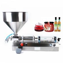 Toothpaste-Oil Filling-Machine Cosmetic Honey-Pack Pneumatic Piston-Filler 5-5000ml-Paste