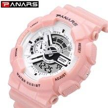 Panars модные часы для мужчин G светодиодный цифровой шок спортивные водонепроницаемые часы Военный Открытый Бег секундомер наручные часы для мужчин s часы