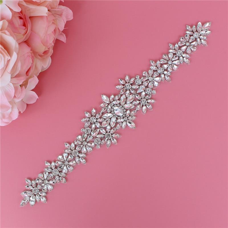 YJWSXF wedding dress belt ladies belt bridal rhinestone belt pearl wedding belt wedding accessories