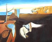 HandPainted Abstract Oil Painting on Canvas Modern Dali  Wall Art Picture for Living Room Home Decor