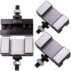 4 шт. токарный станок облицовочный держатель для AXA быстрое изменение CNC токарный инструмент 250-101