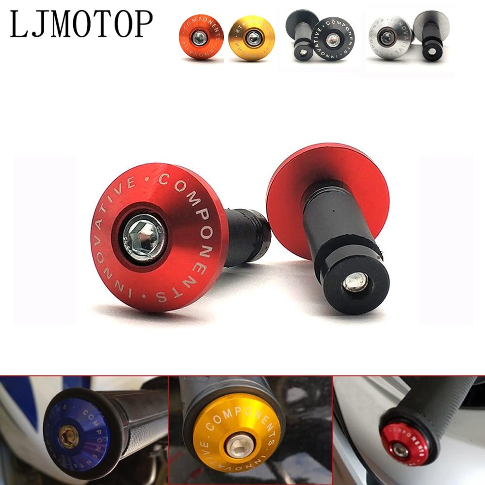 empu/ñaduras moto antideslizante aluminio CNC para 7//8 pulgada manillar de bicicleta pu/ños moto universal rojo