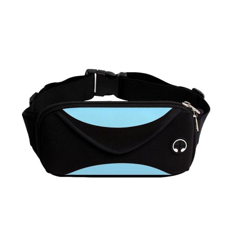 Lady Sport Outdoor Running Waist Bags Waterproof Mobile Phone Holder Jogging Belt Belly Women Gym Fitness Bag