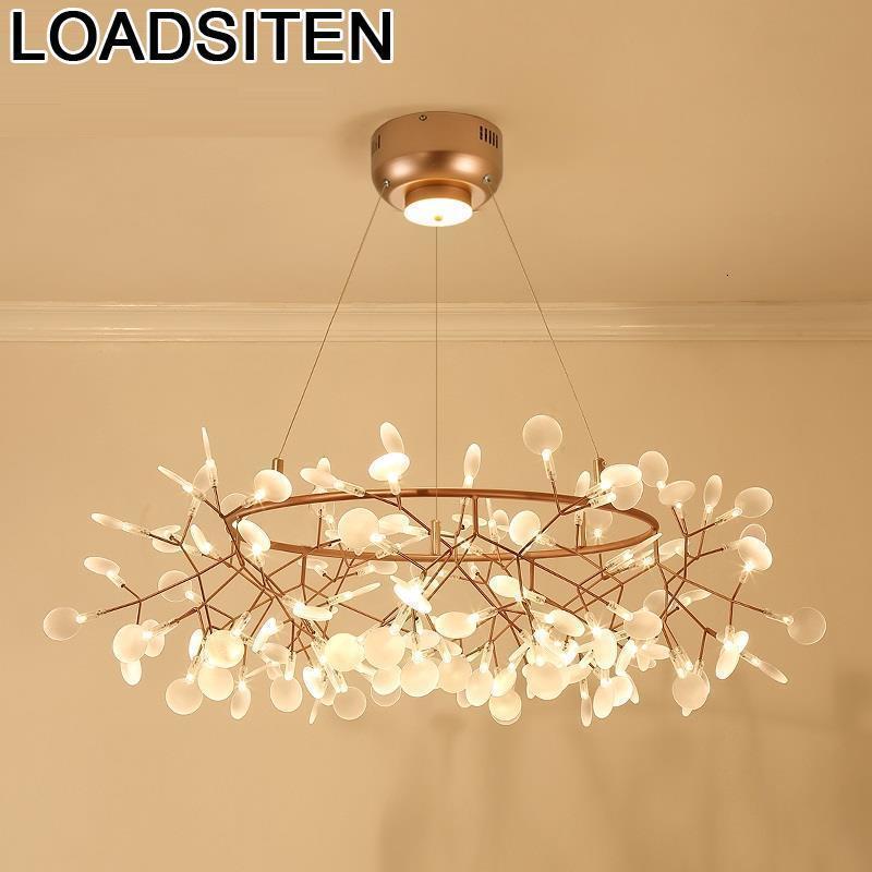 Lustre Pendente Nordic Design Home Deco Lampara Colgante De Techo Industriele Suspension Luminaire Lampen Modern Hanging Lamp