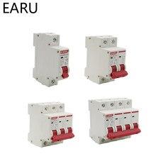 Interruptor de protección contra sobrecarga de Mini disyuntor solar, MCB PV fotovoltaico, DC 1000V 1P 2P 3P 4 p, 6A 10A 16A 20A 25A 32A 40A 50A 63A