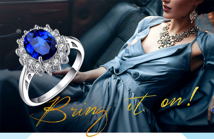 H15e893ea8b1846afa8d70231a4a8f769p JewPalace Princess Diana Created Sapphire Ring 925 Sterling Silver Rings for Women Engagement Ring Silver 925 Gemstones Jewelry
