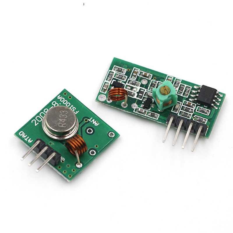 315 433 MHZ 315 MHZ 433 MHZ RF Transmitter dan Receiver Link Kit UNTUK ARDUINO Remote Kontrol Nirkabel Modul Tegangan modul Papan