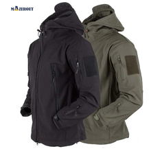 Fishing Camping Tactical Jackets Hiking Army Men Hunting Military Shark Skin SoftShell Waterproof Windbreaker Outdoor Coat S-4XL