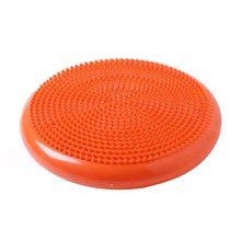 Portable Size PVC Body Exercise Fitness Stability Disc Balance Yoga Pad Wobble Cushion Ankle Knee Board With Pump 37cm universal healthy wobble balance board stability disc yoga sport training fitness exercise waist wriggling round plate game