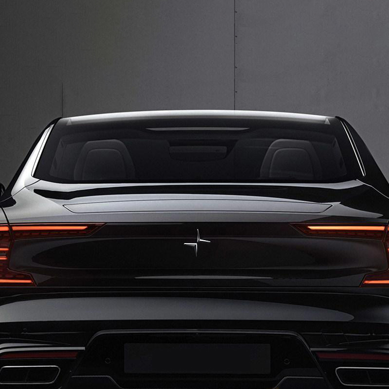 ABS Chrome כוכב צפון לוגו מדבקת סמל תג מדבקות עבור וולוו S60 XC60 S90 XC90 XC40 אבזרים