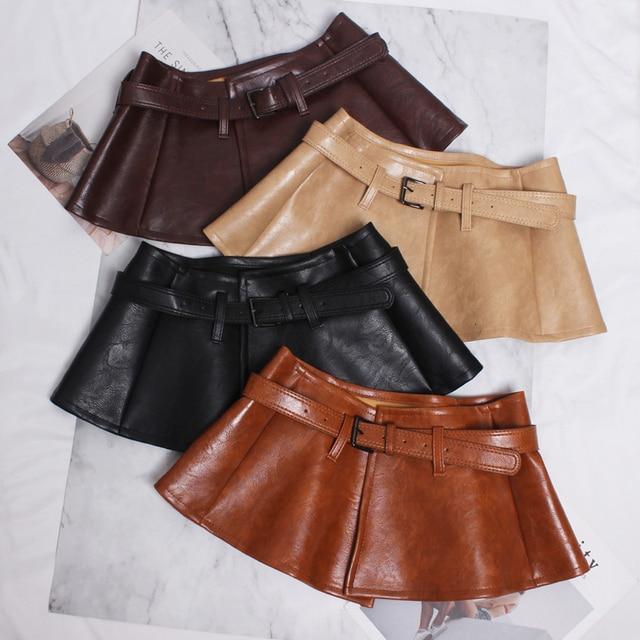 CETIRI Designer Women Peplum Belt Female Skirt Waist Belts Fashion Ladies PU Black Bow Wide Harness Dresses Waistband
