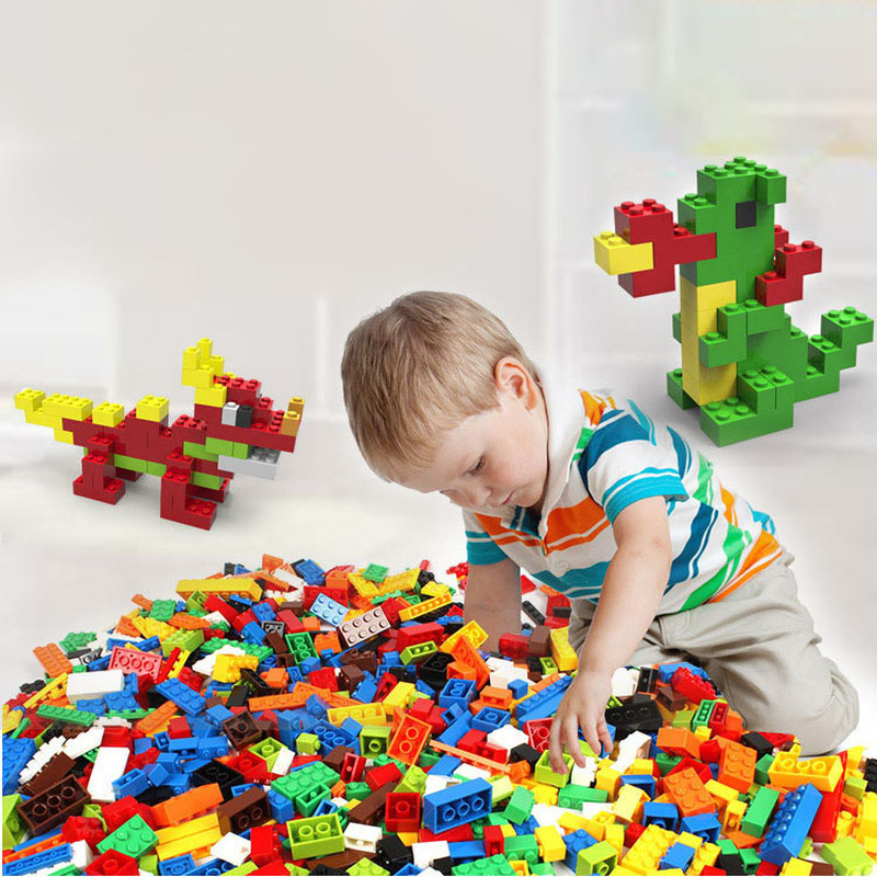 1000pcs Childrens Educational Plastic Assembled Toy Blocks Australia DIY Early Education Small Particles and