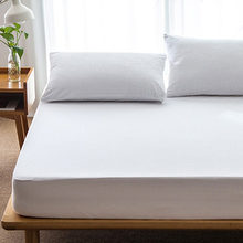 OUTAD Comfortable Large Size Cotton Matress Cover Solid Color Waterproof Dust-Proof Mattress Protector Bed Cover for Mattress(China)