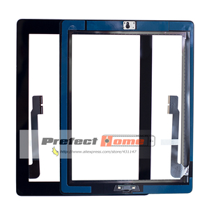 Image 1 - 10 個新タッチスクリーンガラスデジタイザアセンブリ iPad 3 アセンブリ A1416 A1403 A1430