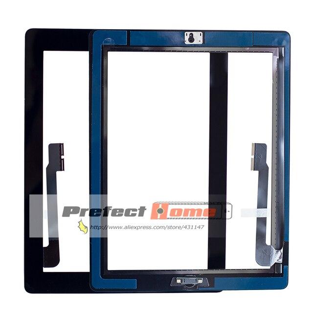 10 個新タッチスクリーンガラスデジタイザアセンブリ iPad 3 アセンブリ A1416 A1403 A1430