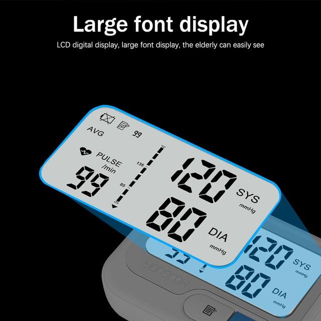 Yongrow automatic digital wrist bl