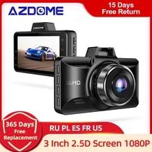 AZDOME M01 프로 FHD 1080P 대시 캠 3 인치 DVR 자동차 운전 레코더 야간 투시경, 파크 모니터, G-센서, 루프 레코딩 Uber