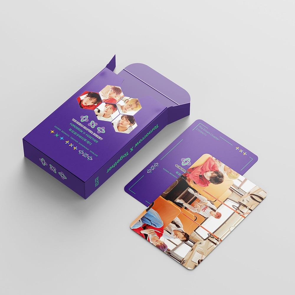 54 шт./компл. Kpop TXT photocard Высокое качество HD фото открытки в альбом открытки K-pop TXT LOMO карты Новые поступления для фанатов подарки