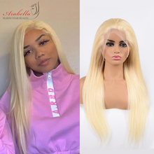 Blonde Lace Front Wig Brazilian 13x4 Straight Remy Hair Wigs