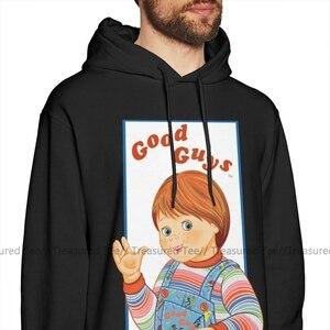 Image 2 - Чаки Толстовка детская игра Good Guys Чаки толстовки оверсайз, костюм: сиреневый свитер хлопковая толстовка с капюшоном модные уличная толстовка с капюшоном