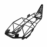 Steel Roll Cage Frame Body Black Chassis for Axial SCX10 1 / 10 RC Rock Car Crawler Climbing Truck Parts