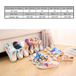 Image 2 - Drop Ship Winter Home Slippers Luffy Men Women Slippers Plush Japanese Cosplay Cartoon Slippers Anime Naruto One Piece