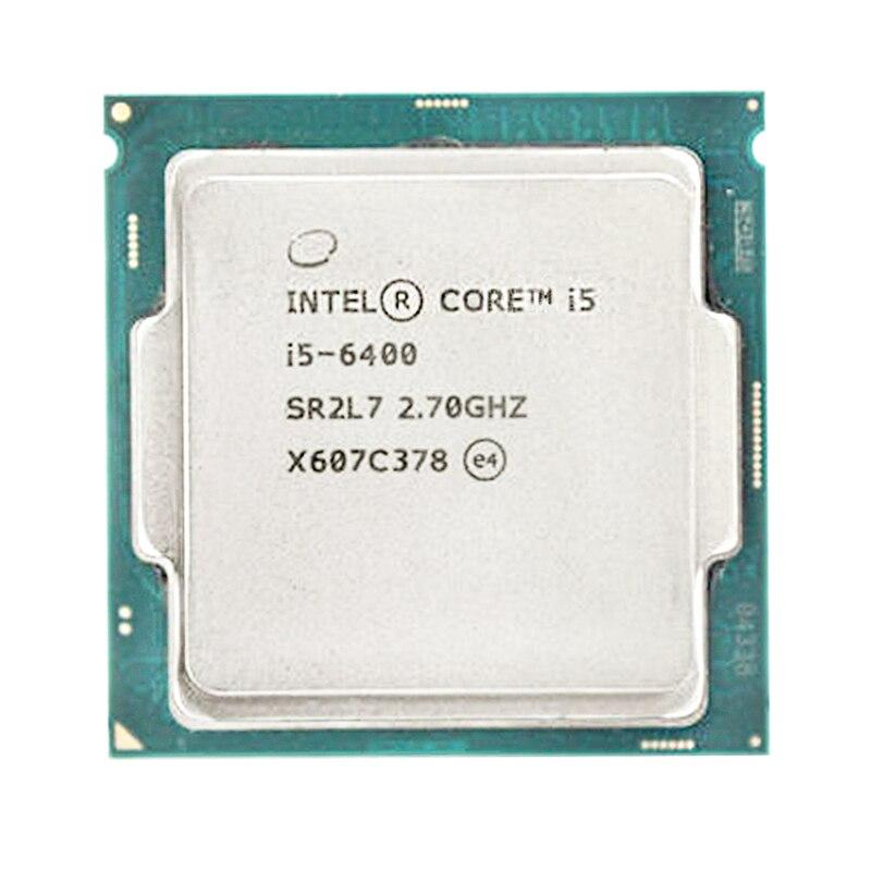 Intel Core i5 i5-6400 6400 Quad Core de 2,7 GHz Quad-Hilo de procesador de CPU 6M 65W LGA 1151 En Stock UMIDIGI S5 Pro Helio G90T procesador de juegos 6GB 256GB teléfono inteligente FHD + AMOLED en la pantalla de huella digital Pop-up Selfie Cámara