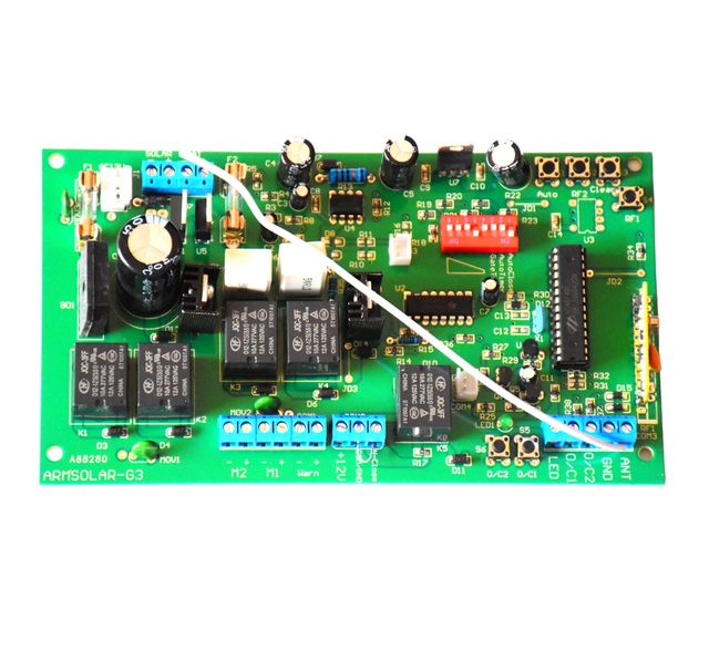 12V Elektronische karte motherboard platine für Dual flügel automatische schaukel tor öffner motor 12VDC