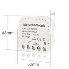 Умный выключатель wi-fi, беспроводной пульт дистанционного управления с голосовым управлением, совместим с Amazon Alexa / Google Home Assistant