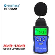 Holdпиковый измеритель уровня звука цифровой измеритель уровня звука Sonometros измеритель уровня шума аудио 30-130дб децибелы мини-измеритель звука