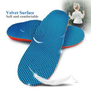 Image 4 - עיד ילדים ילדים אורטופדיים נעלי שטוח רגל קשת תמיכת רפידות Orthotic רפידות תיקון בריאות נעלי pad טיפוח כף רגל