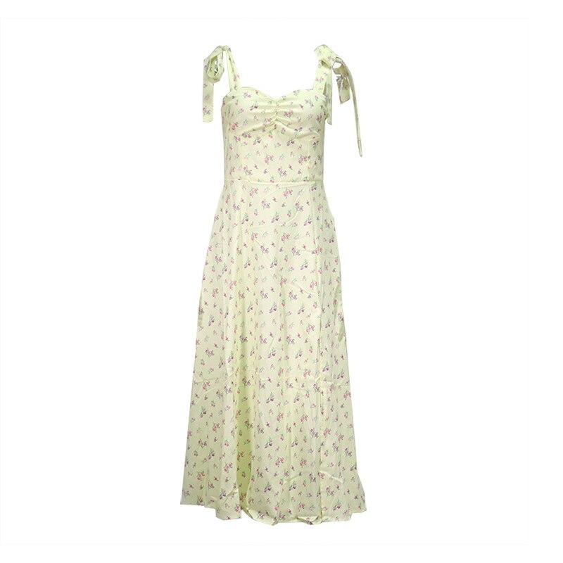 Floral Dress Sleeveless Strap Robe Longue Maxi For Women Femme Vestido De La Correa Lange Mouw Jurk Manga Fleurie Sundresses 7