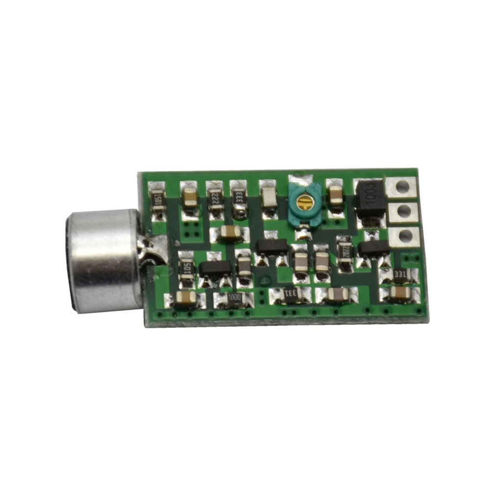 Micro FM Transmitter 0.7-9V 88MHZ-108MHZ Mini Bug Wiretap Dictagraph Interceptor;