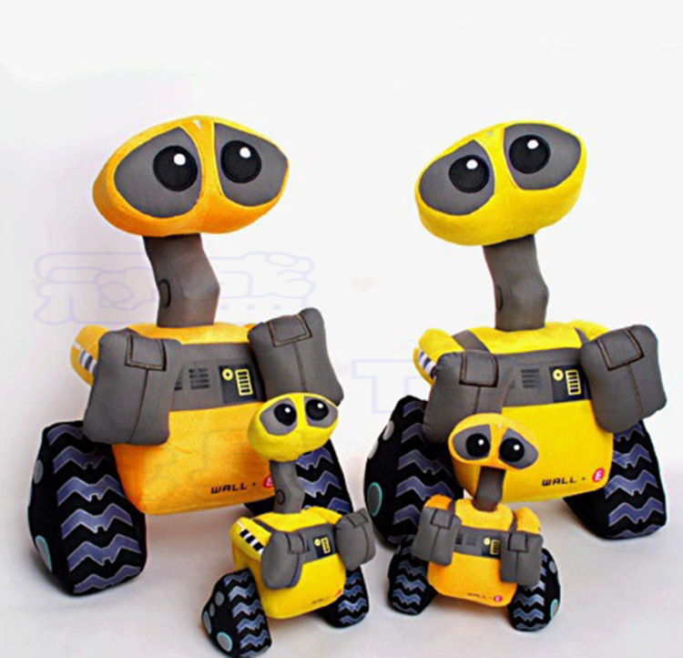 1pcs Robot Wall-e EVE Plush Toy Doll Children's Day Christmas Gift