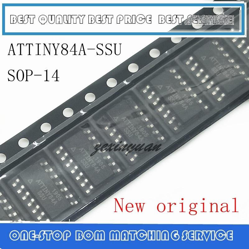 10PCS/LOT ATTINY84A-SSU ATTINY84A-U ATTINY84A ATTINY84 SOP-14 IC  Original