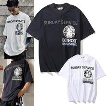 T-shirt manches courtes pour homme, Streetwear, Hip-Hop, Kanye West, avec lettres imprimées, graphique, Tendance, Travis Scot, 2021