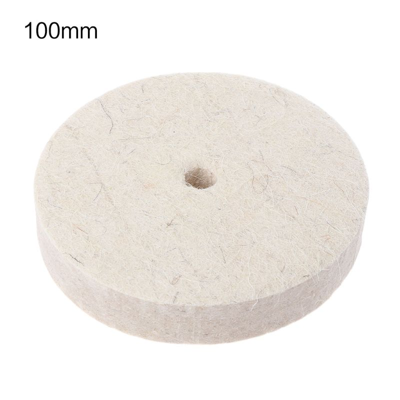 Drill Grinding Wheel Buffing Wheel Felt Wool Polishing Pad Abrasive Disc For Bench Grinder Rotary Tool 83XA