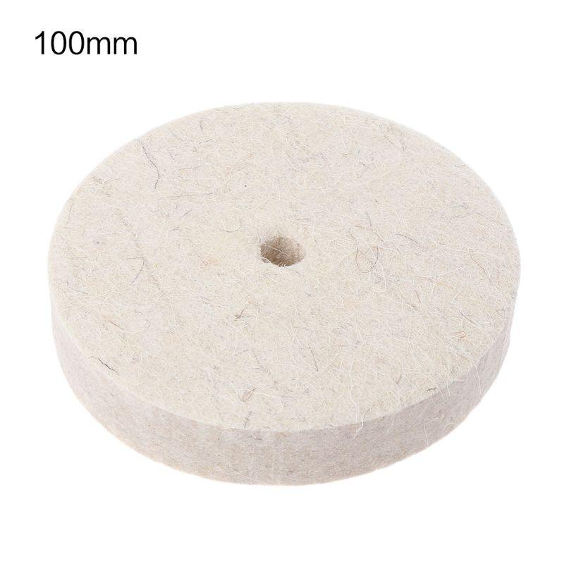Drill Grinding Wheel Buffing Wheel Felt Wool Polishing Pad Abrasive Disc For Bench Grinder Rotary Tool 83XA