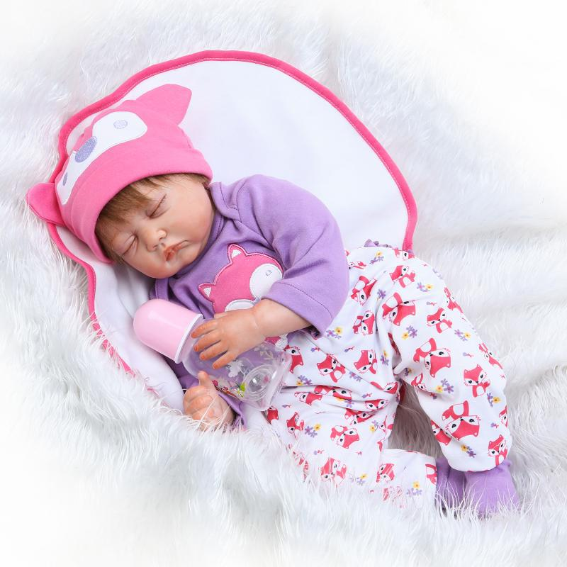 NPK Model Infant Reborn Baby Doll Ultra-Realistic Newborns Clothing Model Photographic Prop Parcel