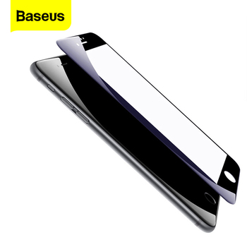 Baseus 3D Premium Gehard Glas Film Voor Iphone 8 7 Plus 0.23Mm Pet Volledige Edge Cover Screen Protector Voor IPhone8 Glas Film