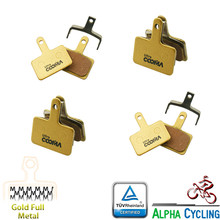 Metal Bicycle Brake Pads for SHIMANO B01S MT200, M575/M525/ M515/M495 and Drako/HDC-300/Auriga comp Gemini, 4 pairs