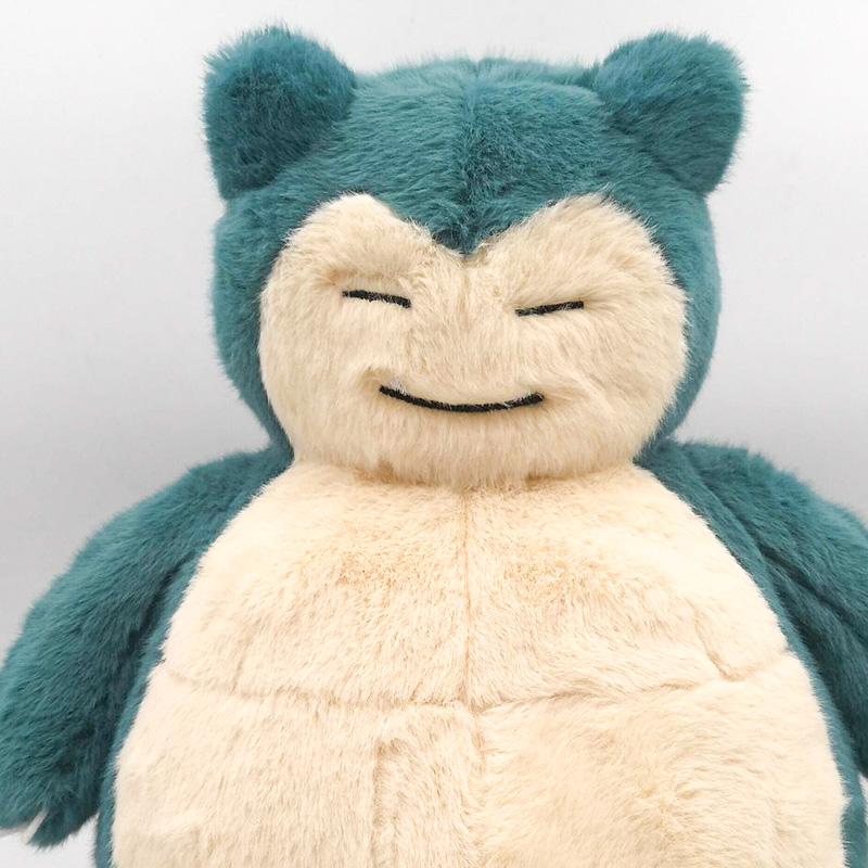 Takara Tomy Japan Anime Detective Pikachu Pokemon Stuffed Snorlax Plush Soft Toy Christmas Gifts For Kids