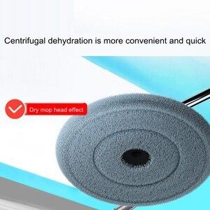 Image 2 - Balai serpillère magique pour le sol et la salle de bain avec seau microfibre 360, accessoire universel pour le nettoyage des sols et salle de bain