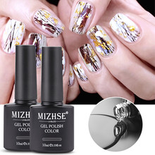 Mizhse 10 Ml Nail Folies Gel Transfer Decoratie Clear Adhesive Nail Art Gereedschap Nagels Diy Nail Beauty Stickers Accessoires(China)