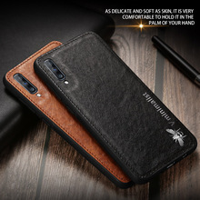 FAYDAI Ultra thin Magnetic Cover For Samsung Galaxy A50 A70 A8 2018 J6 Plus S10 Phone Case Luxury PU Leather Back