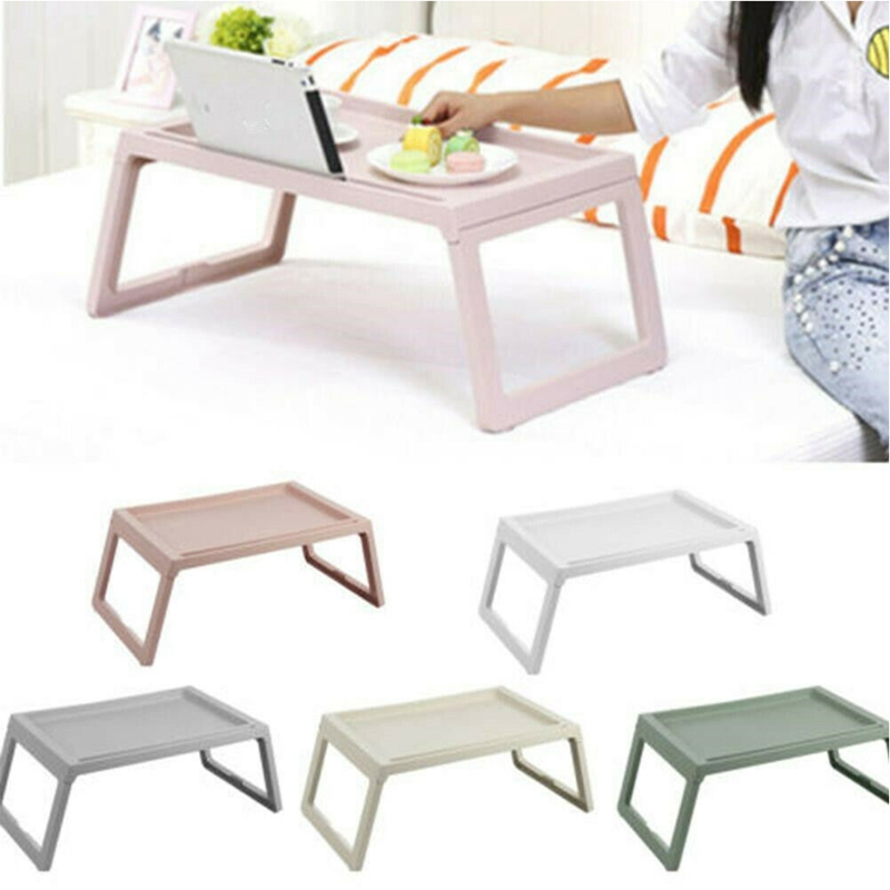 Computer Desks Portable Adjustable Foldable Laptop Notebook Lap PC Folding Desk Table Vented Stand Bed Tray