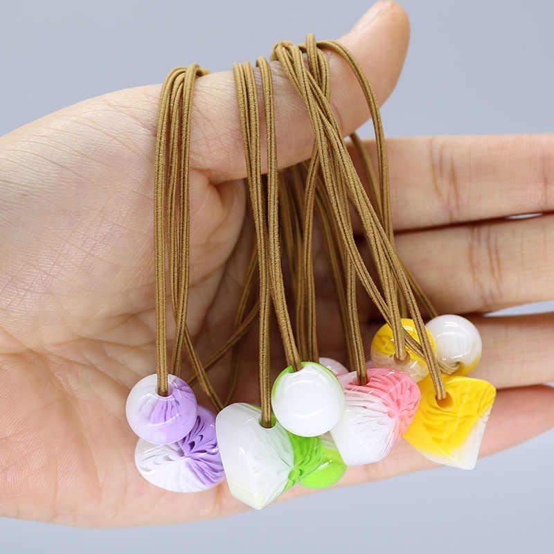 Faixas de cabelo elásticas meninas laços de cabelo veludo cetim scrunchie pacote cabelo accesorios cheveux femme durag navidad gumki do wlosow F01-4
