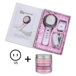 3 em 1 ems dispositivo ultra-sônico infravermelho massager do corpo ultra-som emagrecimento queimador de gordura cavitação ferramenta de levantamento de rosto máquina da beleza