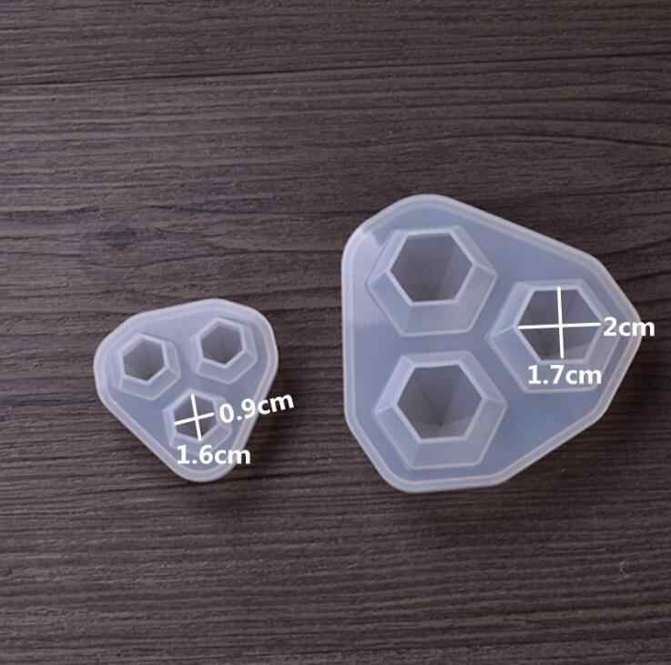 4 вида прозрачной силиконовой формы высушенный цветок смола декоративное ремесло для изготовления ювелирных изделий кулон ювелирные изделия инструменты и аксессуары