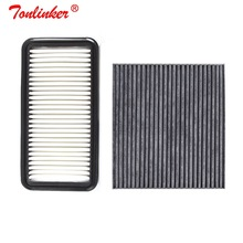 Car Air Filter+Cabin Filter 2Pcs For Hyundai Verna MC 2005-2009 1.4L1.4AT 1.4AT 1.6MT 1.6AT Car Filter OEM 281131G100 971330C000 car air filter 17801 50060 fit for toyota old crown 2 5 3 0 model 2005 2009 2012 car accessoris external filter